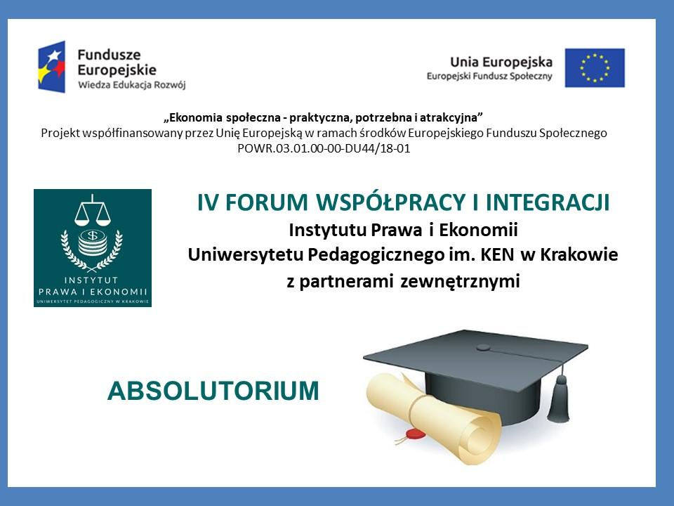 IV Forum i Absolutorium